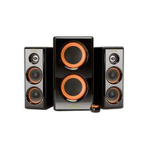 Arion 2.1 Soundstage Speakers with Dual Subwoofers (AR506-BK) - Black