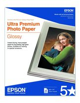 Epson 8x 11 inch 25 Sheet Ultra Premium Photo Paper Glossy