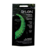 Dylon Natural Fabric Dye - Tropical Green