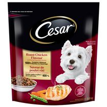 Cesar Roast Chicken Flavour Dog Food for Small Dogs 3kg