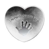 Heart Handprint - French