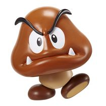 "World of Nintendo 4"" Figure - Goomba Arwing"