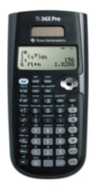 Calculatrice scientifique TI 36X Pro