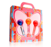 Ensemble cadeau à rouleaux Mariah Carey Lollipop Bling
