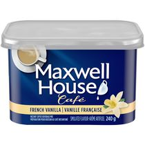 Maxwell House Cafe French Vanilla Instant Coffee