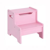Guidecraft Banc-escabeau expressions - rose