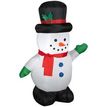 Airblown Self-Inflatable Outdoor Snowman