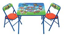 Paw Patrol Activity Table and Chairs Set