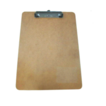 Wooden clipboard