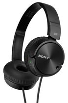 Sony Noise Canceling Over-Ear Headphones, Black -MDRZX110NC
