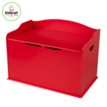 Austin Toy Box Red