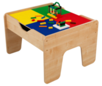 2 In 1 Activity Table With Board - Natural