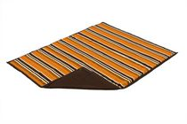 The Shrunks Outdoor Family Size Blanket Orange