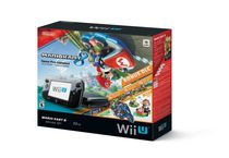 Mario Kart 8 32GB Deluxe Set with 2 DLC's Wii U