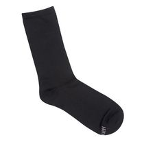 Hanes ComfortSoft Ladies' Crew Socks - Pack of 3 Black/Grey