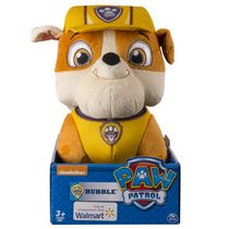 "Paw Patrol Plush Basic 10"" Rubble Toy"