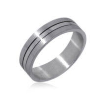 Sterling Silver Men's Ring 12