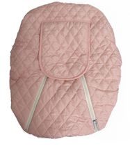 Mint Marshmallow Carseat Cover - Pink