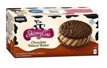 SKINNY COW® Chocolate Peanut Butter Sandwiches Frozen Dairy Dessert Sandwiches with Fibre