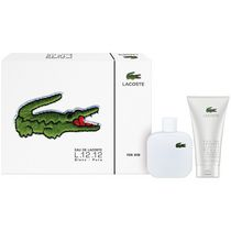 Lacoste Blanc 100 ml Eau De Toilette Spray + 150 ml Shower Gel -Set For Men