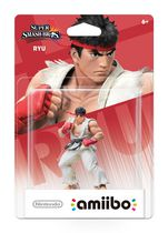 Ryu amiibo Figure - Super Smash Series