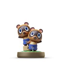 Figurine amiibo Timmy & Tommy Nook - Série Animal Crossing