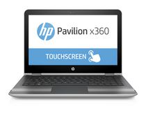 "HP Pavilion x360 13.3"" Notebook with Intel Core™ i3-6100U 2.30GHz Processor, Windows 10 Home 64, Silver"