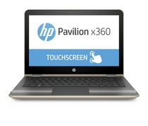 "HP Pavilion x360 13.3"" Notebook with Intel Core™ i3-6100U 2.30GHz Processor, Windows 10 Home 64, Gold"