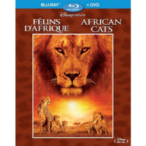 Disneynature: Félins D'Afrique (Blu-ray + DVD) (BD Amaray) (Bilingue)