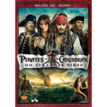 Pirates Of The Caribbean: On Stranger Tides (2-Disc) (DVD + Blu-ray) (DVD Amaray)