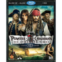 Pirates Of The Caribbean: On Stranger Tides (3D Blu-ray + 2-Disc Blu-ray + DVD) (Limited Edition)