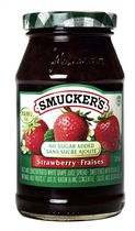 Smucker's No Sugar Added Strawberry Spread