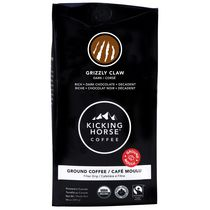 Kicking Horse® Coffee Organic Grizzly Claw® Dark Roast Ground