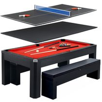 Park Avenue 7-ft Pool Table Combo Set