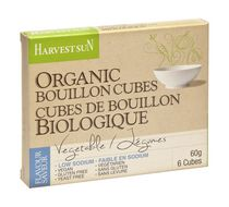 Harvest Sun Organic Low Sodium Vegetable Bouillon Cubes