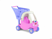 Caddie Cozy Coupe princesse Little Tikes