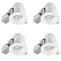 "Globe Electric 5"" IC Rated Ridged Baffle Recessed Lighting Kit"