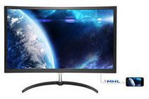 "Philips 279X6QJSW 27"" Curved LED Monitor with FreeSync and HDMI"