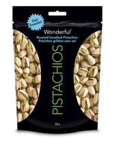 Wonderful Pistachios Roasted No Salt