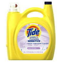 Tide Simply Clean and Sensitive Liquid Laundry Detergent, Cool Cotton Scent