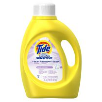 Tide Simply Clean and Sensitive Laundry Detergent, Cool Cotton Scent, 2.95 Liter, 48 Loads