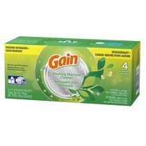 Gain Washing Machine Cleaner 4 count