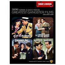 TCM Greatest Gangster Films Collection : Edward G. Robinson - Kid Galahad / The Little Giant / Larceny, Inc. / Bullets Or Ballots
