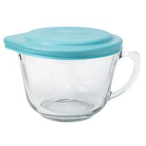 Anchor Hocking 2 qt Glass Batter Bowl with Lid
