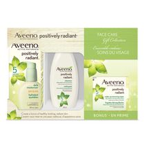 Aveeno Active Naturals Positively Radiant Face Care Gift Set