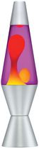 "14 1/2"" Lava Motion Lamp - yellow wax/purple liquid"