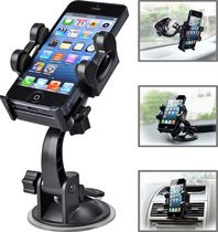 Avantree 3-in-1 Cradle Mount Kit for Mobile Devices with Suction Mount