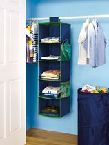 Your Zone 5-Shelf Closet Organizer - Boy