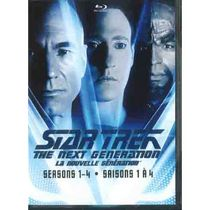 Star Trek: The Next Generation - Seasons 1-4 (Blu-ray) (Bilingual)