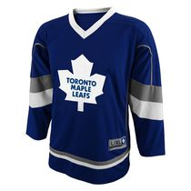 NHL Men's Toronto Maple Leaf Team Long Sleeve Jersey L/XL